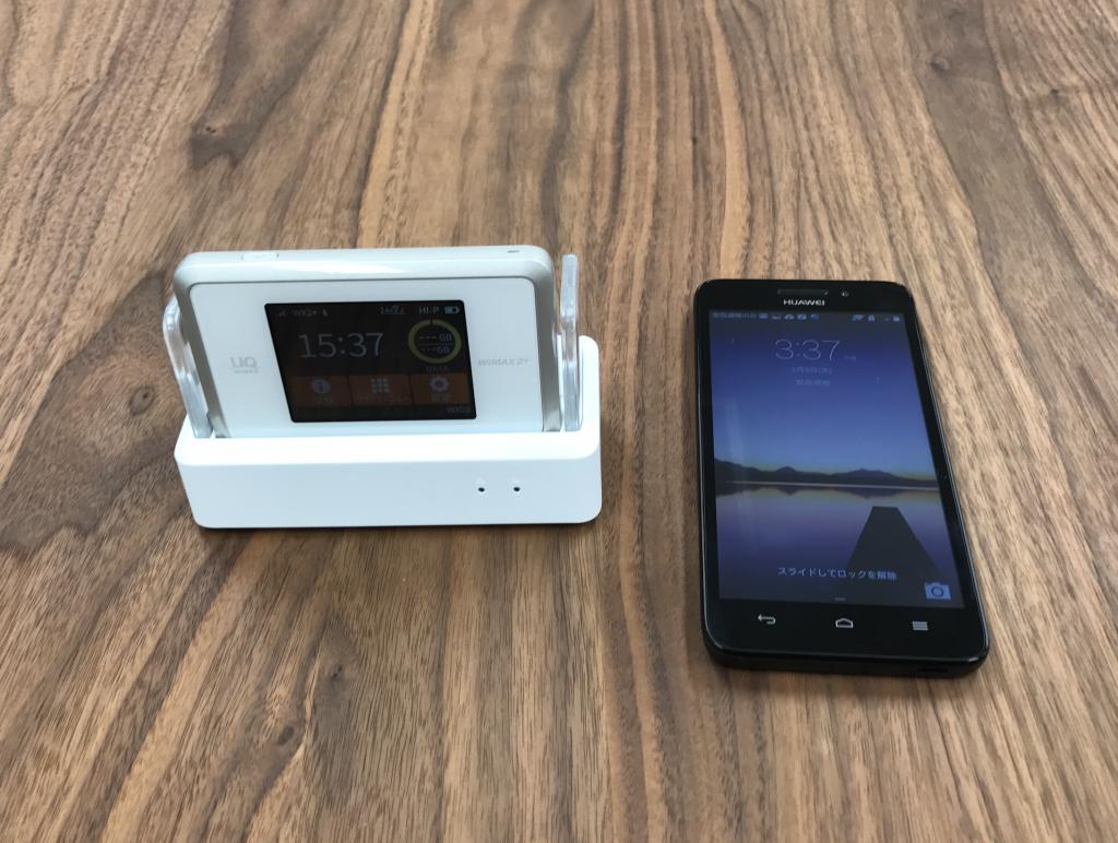 速度テスト Speedtest.net WiMAX WX03