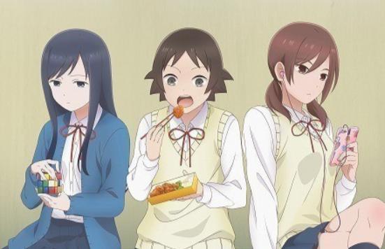 U-NEXTのおすすめアニメ 女子高生の無駄づかい
