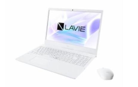 NEC-ノートパソコン-LAVIE-N15-パールホワイトのイメージ