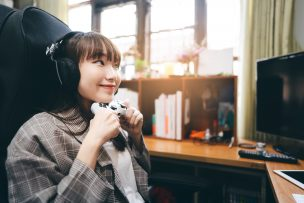 PS4とWiFiと女性