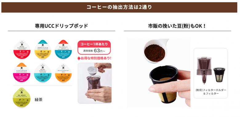 スラットカフェのコーヒー