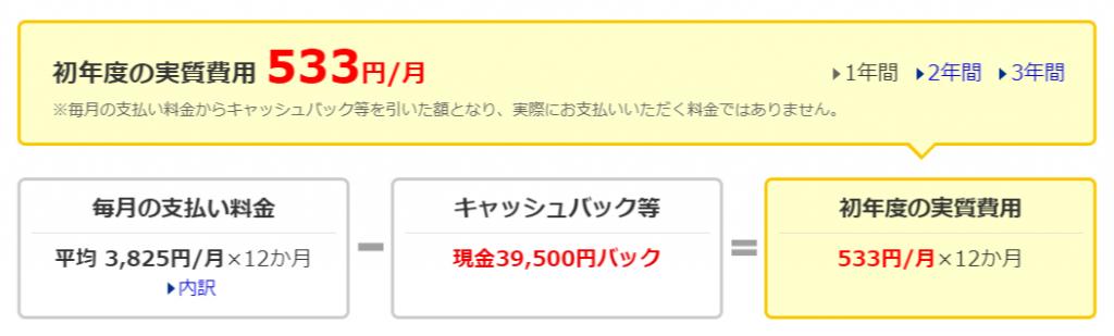 価格.com - モバイル回線料金比較2