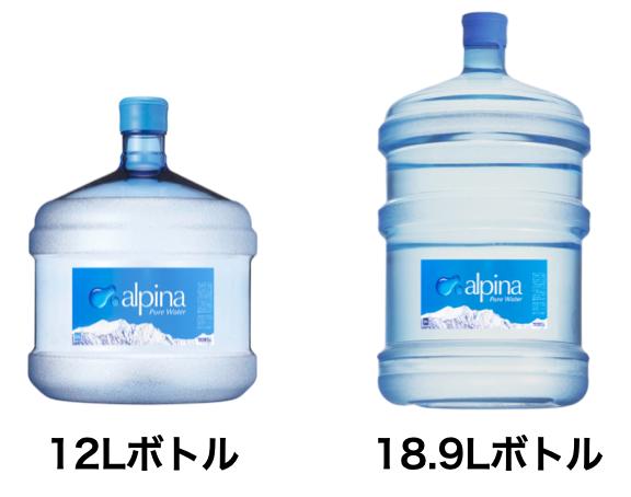 12、18.9Lボトル