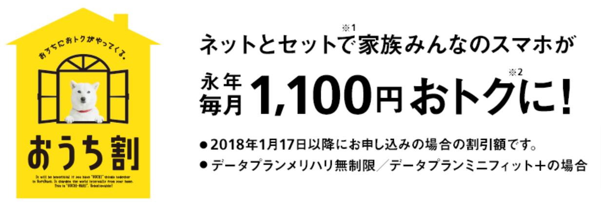 おうち割-ソフトバンク